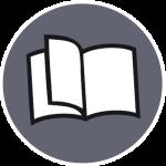 Icon Grafikdesign Broschüre