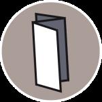 Icon Grafikdesign Flyer