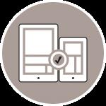 Icon Webdesign Responsiv