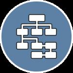 Icon Webdesign Navigationsstruktur