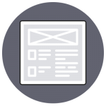 Icon Webdesign Wireframe