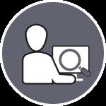 Icon Webdesign Recherche