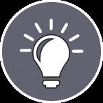Icon Grafikdesign Ideenfindung